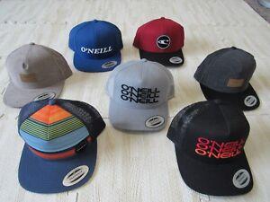 ONEILL-MENS-CLASSIC-SNAPBACK-HATS-NWT