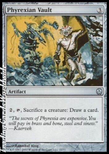 The Coalition //// engl Phyrexia vs 4x Phyrexian Vault //// NM //// DD //// Magic