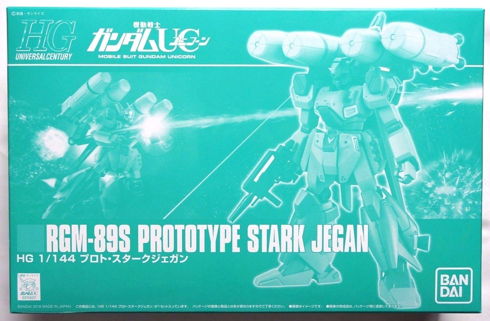 BANDAI HGUC 1 144 RGM-89S Predotype Stark Jegan Premium Bandai limited model kit