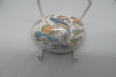 Wedgwood Kutani Crane Egg Trinket Dish Bone China 1st Quality British