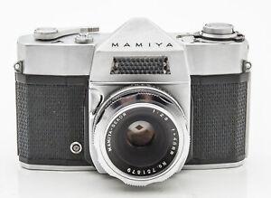 Mamiya-Spiegelreflexkamera-Kamera-mit-Mamiya-Sekor-48mm-48-mm-1-2-8-2-8-Optik