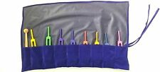 Tuning Forks Solfeggio Weighted Sacred Set Of 9 With Mallet And Velvet Pouch