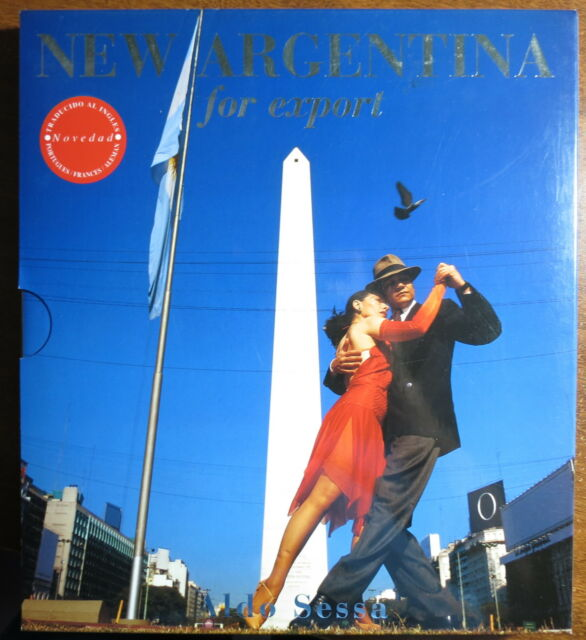 New Argentina for Export 2001 w/sleeve holder - signed by Author - Aldo Sessa