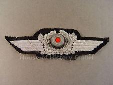 54811 Luftwaffe: Schirmmützenschwinge für Offiziers Schirmmütze, handgestickt