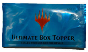 ultimate masters booster box ultimate box topper only mtg magic