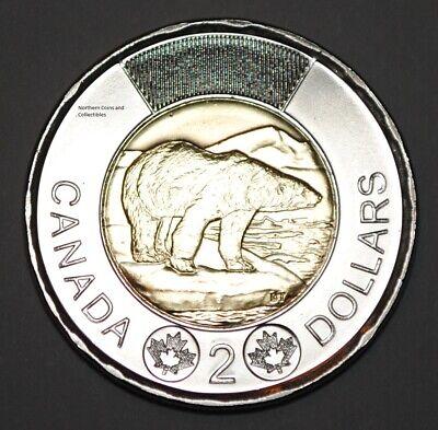 First Strike 2020 UNC $2 Toonie  POLAR BEAR Canada