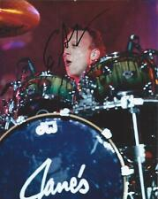 Stephen Perkins Jane's Addiction Drummer Hand Signed 8x10 Autographed Photo COA