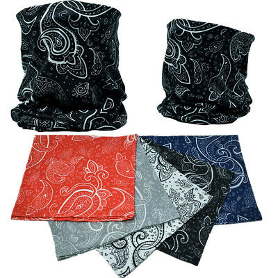 Magic Headwear Pretty Paisley Outdoor Scarf Headbands Bandana Mask Neck Gaiter Head Wrap Mask Sweatband