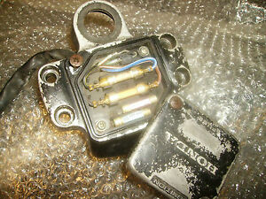 s l300 honda cx500 top yoke clamp fuse box and lid ebay 1982 honda cx500 fuse box cover at gsmx.co