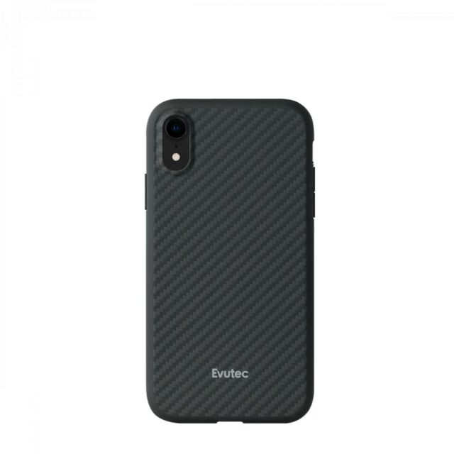 official photos a14db 840b1 Evutec AER Karbon Ultra Thin Premium Case W/ Afix Vent Mount for iPhone XR