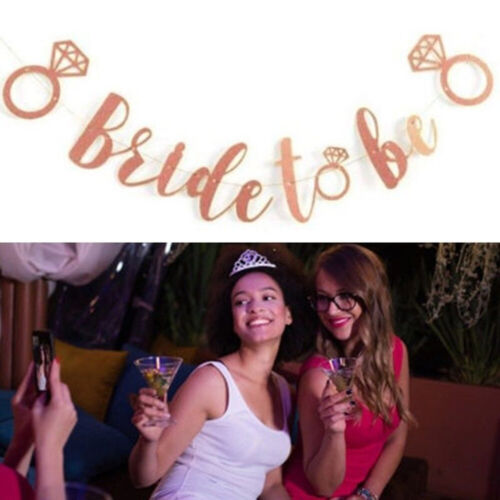 Wedding Banners Bridal Shower Bachelorette Party Decoration Party Decor Supplies