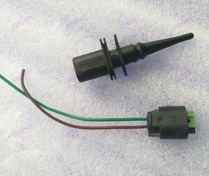 Outside Exterior Ambient Air Temperature Sensor With Connector pigtail For BMW Mini