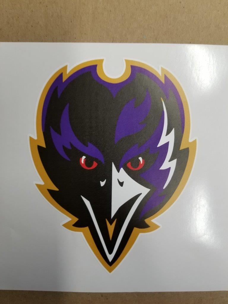 Baltimore Ravens cornhole board or vehicle decal(s)BR1