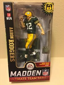 2019 McFarlane Madden Ultimate Team Series 1 LOOSE Figure AARON RODGERS Packers!