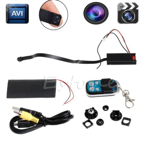 T186 Full HD 1080P Camera Security Mini Spy DIY Hidden Module CCTV DVR Camcorder