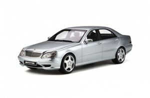 Mercedes-S55-AMG-W220-brillant-silber-2000-1-18-Otto-Mobile
