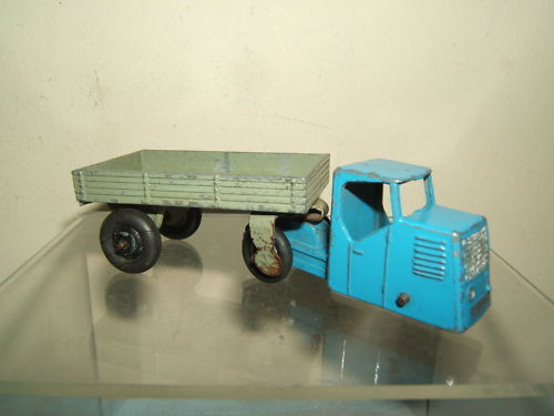 DINKY DINKY DINKY TOYS  MODEL No.33W MECHANICAL HORSE & OPEN WAGON 622c5e