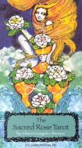 The-Sacred-Rose-Tarot-Cards-By-Johanna-Gargiulo-Sherman-GOOD