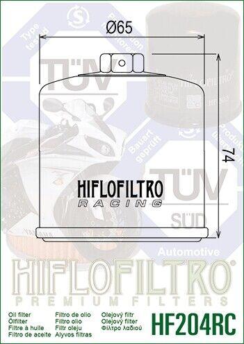 Filtro Olio HIFLO HF204RC Racing per Yamaha MT-10 SP 17-19