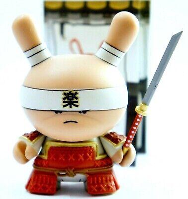 "DUNNY 3/"" GOLD LIFE SERIES HUCK GEE SAMURAI HICKS RHINO 2011 KIDROBOT VINYL TOY"