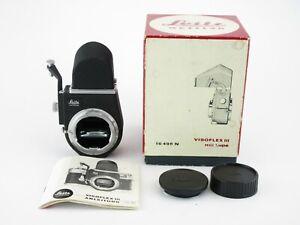 Leitz-Wetzlar-Leica-M-Visoflex-III-mit-Lupe-finder-mit-Anleitung-in-Box-OVP