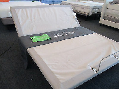 NEW !  FULL  Gray  Tempur-pedic Ergo Plus Model  Adjustable Bed bases w/ Remote