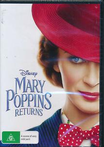Mary-Poppins-Returns-DVD-NEW-Region-4-Disney-Emily-Blunt-Colin-Firth