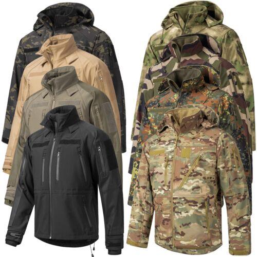 Urbandreamz Softshell Jacke Outdoor Regen Funktionsjacke Jäger Angler XS-3XL