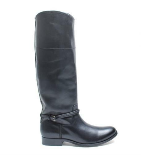 Frye Women's Melissa Seam Tall Boots Riding Boots Black Size 7 M New