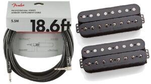 Seymour-Duncan-Pegasus-amp-Sentient-8-String-Humbucker-Black-Set-FENDER-18FT
