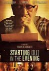 Starting out in The Evening 0031398228714 With Frank Langella DVD Region 1