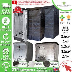 Lighthouse Lite Grow Intellec-budget Portable Grow Rooms-range Of Sizes/spec-afficher Le Titre D'origine Calcul Minutieux Et BudgéTisation Stricte