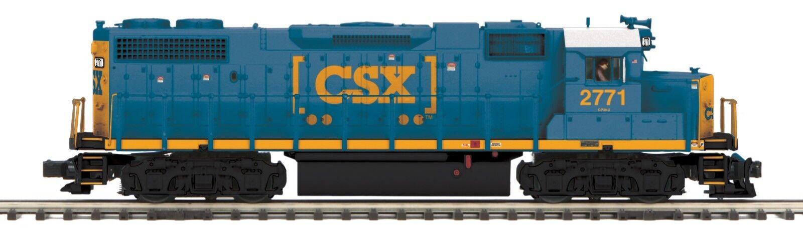 MTH 20-20906-1 O Scale Premier GP38-2 Diesel Engine With Proto-Sound 3.0 (Hi-Rai