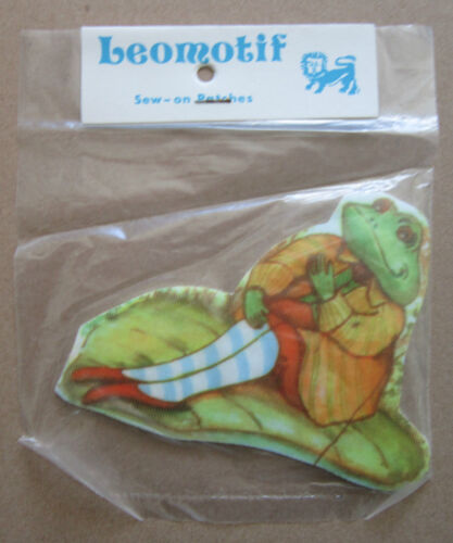 Frog Vintage Leomotif Cloth Sew On Patch Badge Crafting Sewing