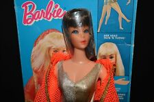 Vintage Dramatic New Living Barbie Doll in Original Box**1969 Brunette