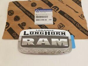 """New OEM Mopar Dodge Ram """"LARAMIE BIG HORN EDITION"""" Rear Tailgate Badge Emblem"""
