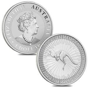 2020-SILVER-BULLION-DOLLAR-AUSTRALIAN-KANGAROO-1oz-COIN-IN-INVESTMENT-x1