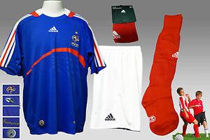 e0436e8bb9c New adidas FRANCE Football Kit Shirt Shorts Socks Large Boys ( Chest ...