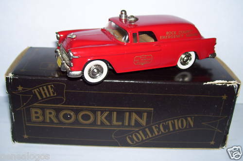 BROOKLIN CHEVY NOMAD VAN CHEVROLET FIRE DI MARESCItuttiO CAMION rif. 26A 1956 in