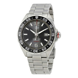 tag heuer formula 1 automatic mens watch waz2011 ba0842 image is loading tag heuer formula 1 automatic mens watch waz2011