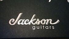 Jackson Decal Logo Sticker for Guitar Hard Case, Amp Cab, Wall Art, Window, Car