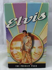 Vintage Elvis Presley THE PRESLEY PACK 4 VHS Movies ...
