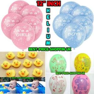 Its-a-Boy-Blue-ITS-A-GIRL-Balloons-Baby-Shower-Party-Decorations-Latex-BALOONS