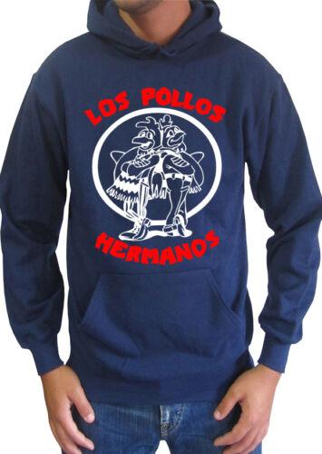 Felpa Breaking Bad Los Pollos Hermanos Zip Up hoodie Uomo ufficiale serie tv