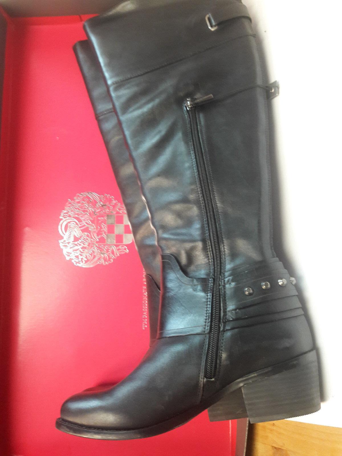 Vince Camuto Beatrix tobillo Botas de montar negro, con tachas, negro, montar M/36 e02fee