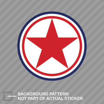 NATO Air Component Roundel Sticker Decal Vinyl Luxembourg LUX LU
