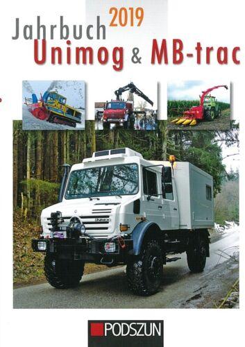 Mercedes//Traktor//Traktoren-Buch//Technik Jahrbuch 2019 Unimog /& MB-trac NEU