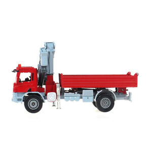 NEW KDW 1:50 Scale Diecast Atego with Crane Truck Vehicle Cars Model Xmas Gift
