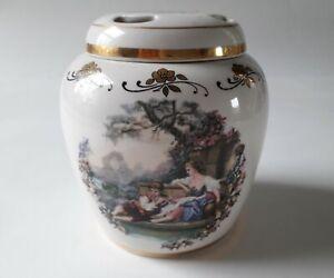 Lord Nelson Pottery pot pourri Pot & Couvercle Scène romantique fabriqué à la main en Angleterre-afficher le titre d`origine 0ampbtj3-09091606-360603998