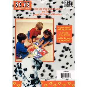 Image Is Loading 101 DALMATIANS PARTY GAME Birthday Supplies Decorations Disney
